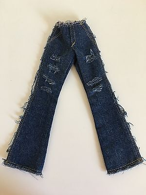 """Tonner Tyler Wentworth Denim Raw Style Flared Jean For 16"""" Doll Fashion Clothing"""