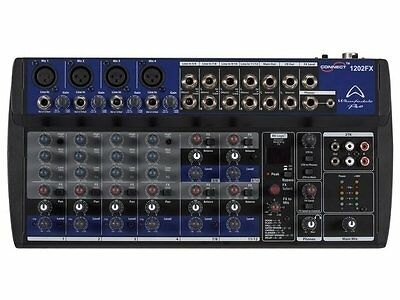 Wharfedale Pro Connect 1202 FX quality micro-mixer Studio Stage Band