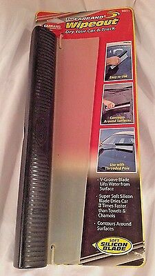 CARRAND WIPEOUT AUTO Silicon SQUEEGEE Car Truck Window Wiper Glass Cleaner