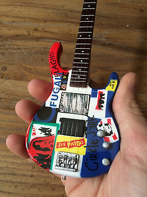 Flea Red Hot Chili Peppers Psychedelic Bass Miniature - Free Shipping within US