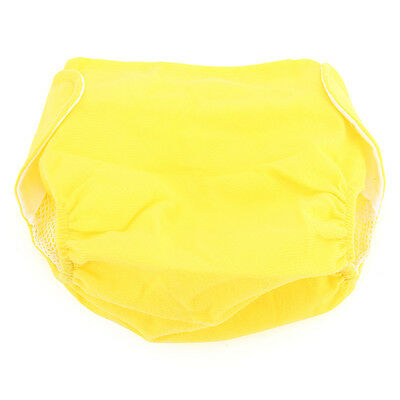 Cloth Reusable Baby Infant Diaper Pants Waterproof Cover Yellow new Soft -