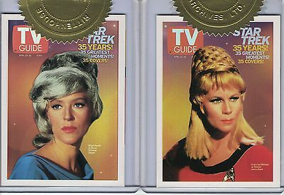 Star Trek TOS 40th Anniversary (2006) Incentive card Set TV8 + TV9