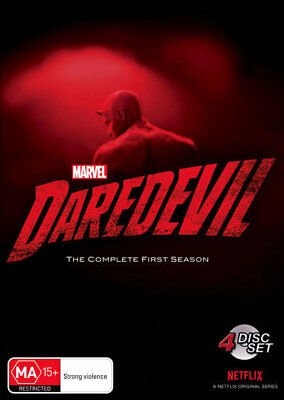 Marvel's Daredevil Season / Series 1 - The Defenders Marvel DVD R4 New!