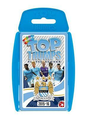 Top Trumps Specials 2015/2016 Manchester City Fc Football Club Card Game