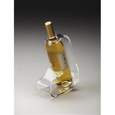 Butler Specialty Company 3266016 Crystal Clear Acrylic Wine Bottle Stand