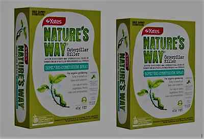 Yates Dipel CATERPILLER KILLER  TWIN PACK SAFE FOR ORGANIC GARDENS