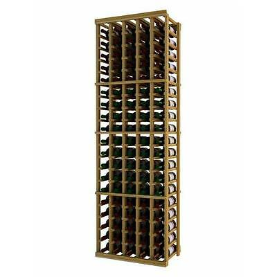 Wine Cellar Innovation Premium Redwood Designer Series 5 Column Individual Ra...