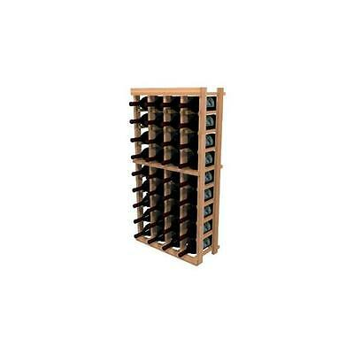 Wine Cellar Innovation Premium Redwood Winemaker Series 4 Column Individual R...