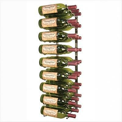 VintageView WS3 Platinum Series Twenty Seven Bottle Wall Mounted Wine Rack