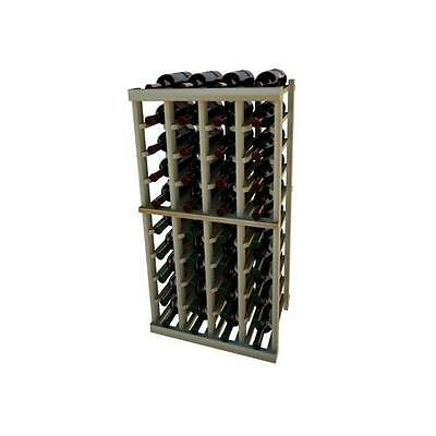 Wine Cellar Innovation Premium Redwood Vintner Series 4 Column Individual Rac...