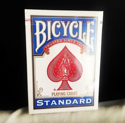 New Sealed Bicycle Standard Playing Cards Blue