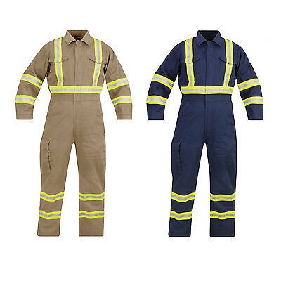 Propper Flame Resistant Coverall Reflective Trim 100%C F5126