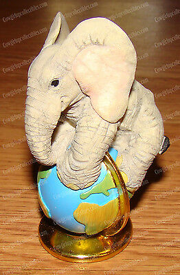 Love is...Feeling on Top of the World (Tuskers by Enesco, CA00882) Elephant