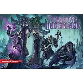 Dungeons & Dragons Tyrants of the Underdark Board Game - Brand new!