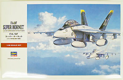 Hasegawa PT38 F/A-18F SUPER HORNET (US Navy) 1/48 Scale Kit