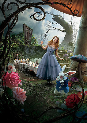 Alice in Wonderland (2010) - A1/A2 POSTER **BUY ANY 2 AND GET 1 FREE OFFER**