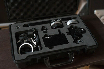 PDMovie Wireless Follow Focus and the Thumbwheel Controller (alone worth £700)