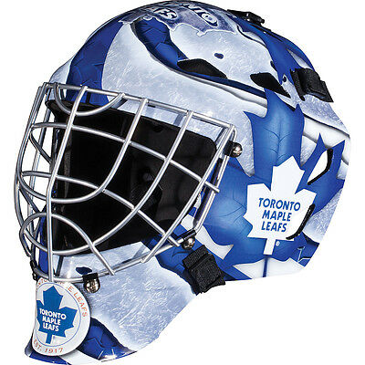 Franklin Sports GFM 1500 NHL Toronto Maple Leafs Goalie Face Mask