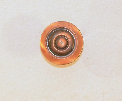 Vintage Pull Copper Plated Drawer Furniture Door Cabinet Button Handle • CAD $3.15