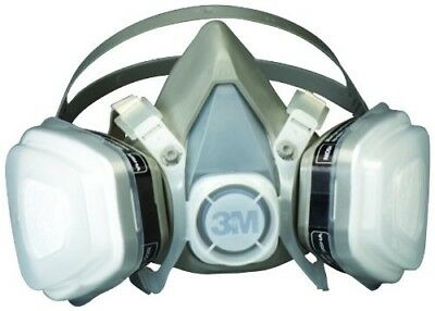 3M 07192 Dual Cartridge Respirator Assembly, Organic Vapor/P95, Medium