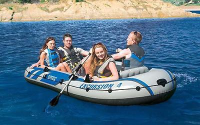 Intex 68324 Excursion 4 Bote Hinchable Barco Canoa Inflable 2016 Version