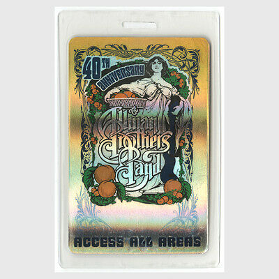 Allman Brothers ALL ACCESS 2009 Laminated Backstage Pass