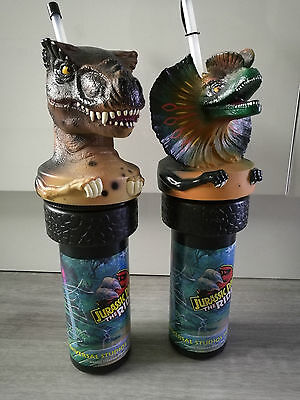 2x Official Jurassic Park The Ride Collector Cups (Complete Set)