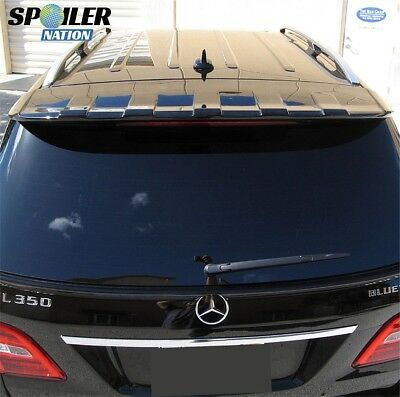 2011-2015 Mercedes ML Tuner Style Rear Roof Line Spoiler (UNPAINTED)