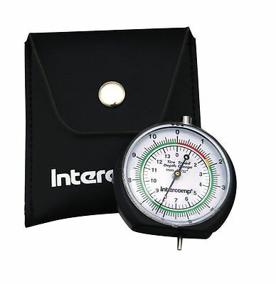 Intercomp 360109 Tire Tread Gauge with Pouch