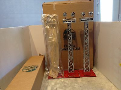 Mth By Lionel  #92 Floodlight Tower -New  Set Of 3