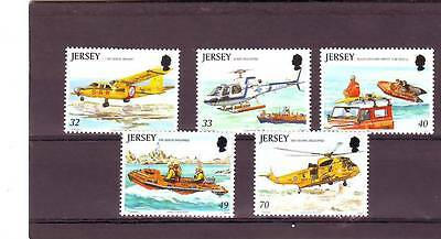 Jersey - Sg1185-1189 Mnh 2005 Rescue Craft