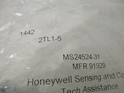 Honeywell 2Tl1-5 Toggle Switch *new In Factory Bag*