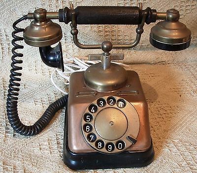 Copper and Brass Vintage Telephone