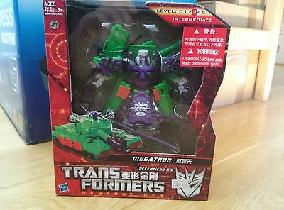 Hasbro Transformers Generations, Megatron, Asia Exclusive, MISB