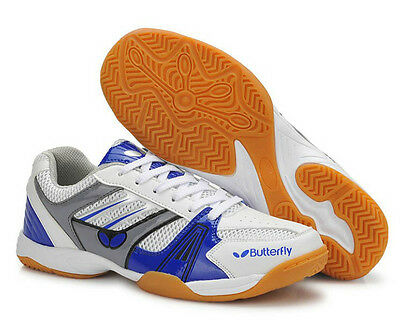 Butterfly Ping Pong/Table Tennis Shoes/Trainers UTTP-1, Blue,  New,
