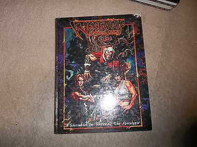 Werewolf the Apocalypse Player's Guide hardcover