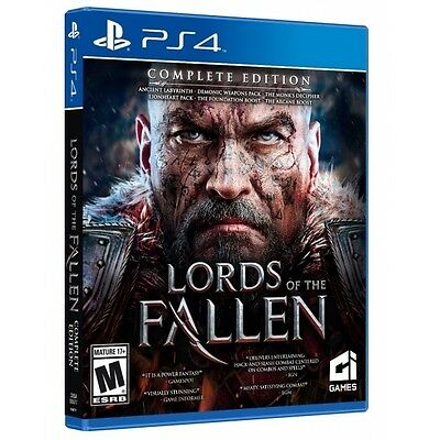 Lords of the Fallen Complete Edition PS4 Game - Brand new!