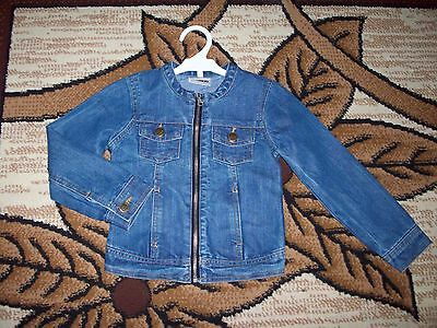 Girls Jeans jacket Age 4-5 Years.  Height 104-110 cm.