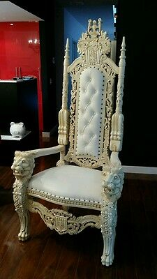 WEDDING KING CHAIRS  for hire