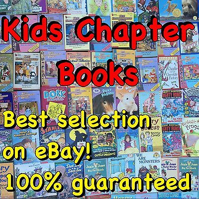 Lot 100 Children's Chapter Books! Great For Home Library And Summer Reading!!!