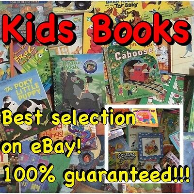 Lot of 100 Disney Golden Scholastic Learn to Read Mixed Set Kids Children Books