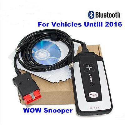 2016 Newest V5.008 R2 WoW SNOOPER With BLUETOOTH Cars Trucks Diagnostic Tool