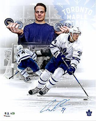 Autographed Auston Matthews Maple Leafs 16x20Photo Item#6599203