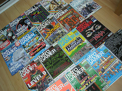 Huge RETRO GAMER MAGAZINE / MAGAZINES Collection - Individual ISSUES 40 - 69