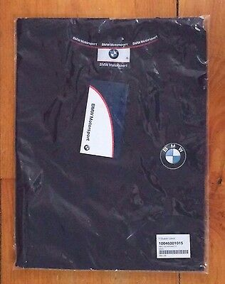 BMW Motorsport Blue T-Shirt, Size XL, New in the Package