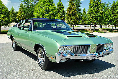 1970 Oldsmobile 442 Rare Sports Coupe Numbers Matching 455 Build Sheet Real Deal! number #1 show car  Numbers Matching 455 V8 M-21 4-Speed Factory A/C