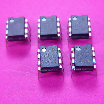 5pcs UA741CP LM741 General Purpose Operational Amplifier  DIP8 OP AMP LM741 741
