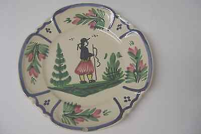 Quimper France Small Plate / Dish