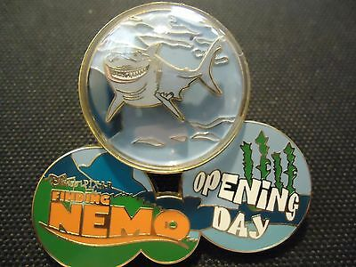 Disney Wdw Finding Nemo Opening Day Bruce Pin Le 3000