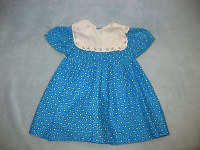 """Original dress for 28"""" or 32"""" Saucy Walker Playpal baby doll 1960's"""